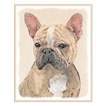 French Bulldog (Sable) Small Poster