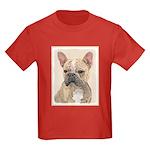 French Bulldog (Sable) Kids Dark T-Shirt
