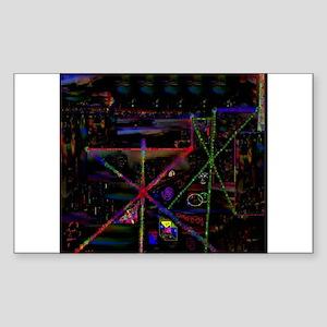 LSD Psychotherapy VI by Brett Sticker (Rectangular