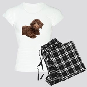 Labradoodle Puppy Women's Light Pajamas