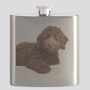 Labradoodle Puppy Flask