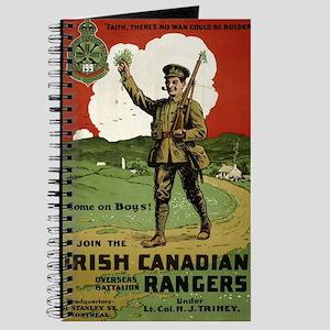 Join The Irish Canadian Rangers Overseas B Journal