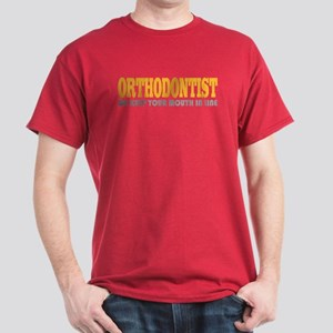 Funny Orthodontist Dark T-Shirt
