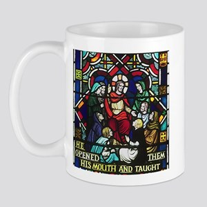 Jesus Teaching Mug