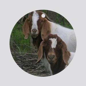 Boer Goats Ornament (Round)