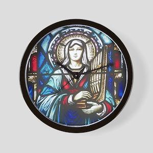 St Cecilia Wall Clock