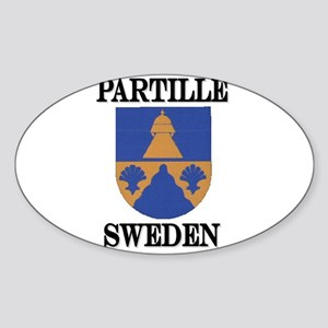 The Partille Store Oval Sticker