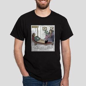 Pshyciatrist hypocrisy Dark T-Shirt