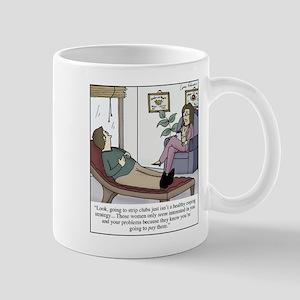 Pshyciatrist hypocrisy 11 oz Ceramic Mug