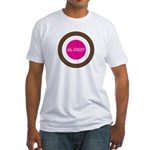 Fitted Go FAGS! T-Shirt (white)
