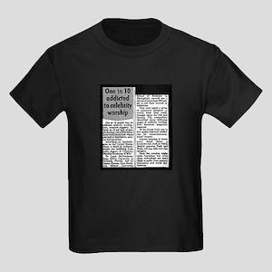 Celebrity Worship Kids Dark T-Shirt