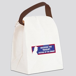 Draining the Treasury Instead of Canvas Lunch Bag