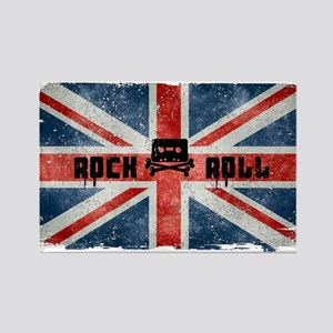 ROCK ROLL-BRITISH FLAG Magnets