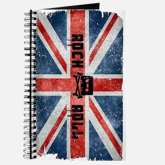 Rock Roll-British Flag Journal
