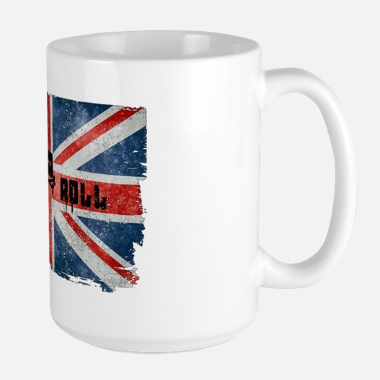 Rock Roll-British Flag Mugs