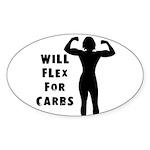 Will Flex Oval Sticker