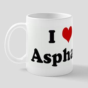 I Love Asphalt Mug