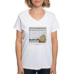 Overscheduled Kids Women's V-Neck T-Shirt