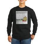 Overscheduled Kids Long Sleeve Dark T-Shirt