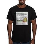 Overscheduled Kids Men's Fitted T-Shirt (dark)