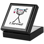 Breast Cancer Survivor Keepsake Box