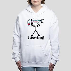 Breast Cancer Survivor Women's Hooded Sweatshirt
