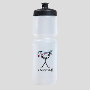 Breast Cancer Survivor Sports Bottle