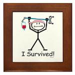 Breast Cancer Survivor Framed Tile
