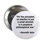Philosopical War Button
