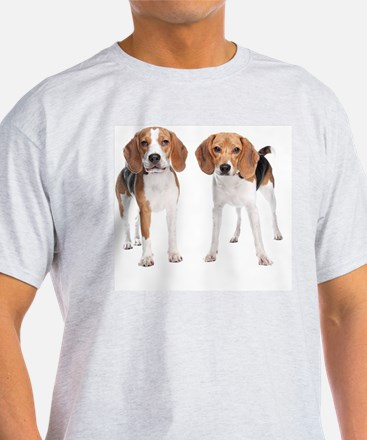 Two Beagle Dogs T-Shirt