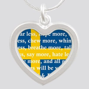 Fear Less, Hope More Necklaces