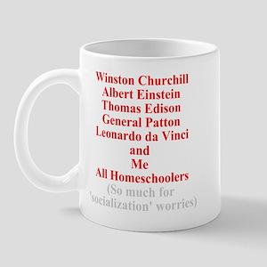 Famous Homeschoolers Mug