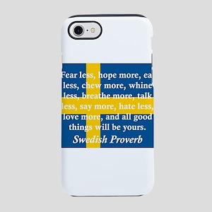 Fear Less, Hope More iPhone 7 Tough Case