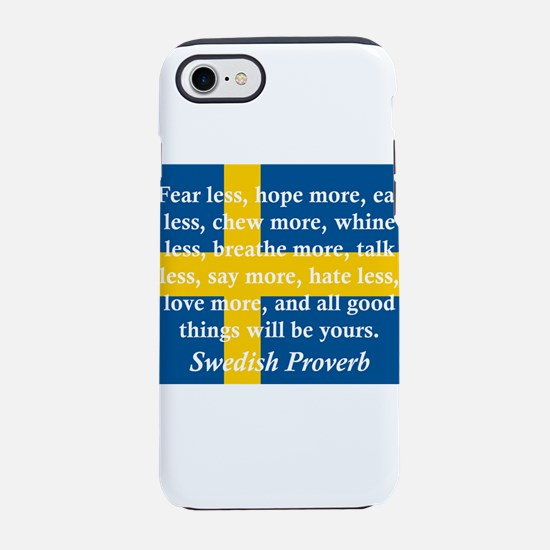 Fear Less, Hope More iPhone 7 Tough Case