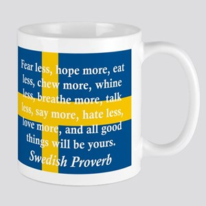 Fear Less, Hope More Mugs