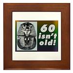 Tutankhamun, 60th Framed Tile
