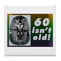 Tutankhamun, 60th Tile Coaster
