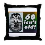 Tutankhamun, 60th Throw Pillow