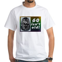 Tutankhamun, 60th White T-Shirt