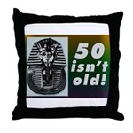 Tutankhamun, 50th Throw Pillow