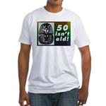 Tutankhamun, 50th Fitted T-Shirt