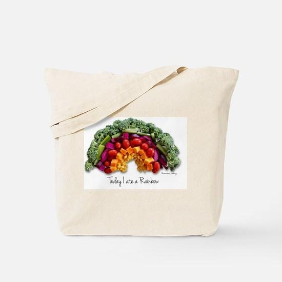 Funny Eat clean Tote Bag