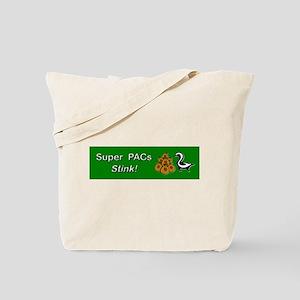 Super PACs Stink Tote Bag
