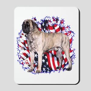 Mastiff(brin) Patriot Mousepad