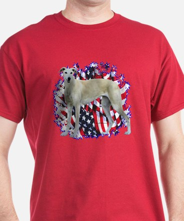 Greyhound Patriotic T-Shirt