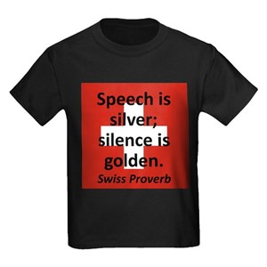 speech is silver silence is golden proverb