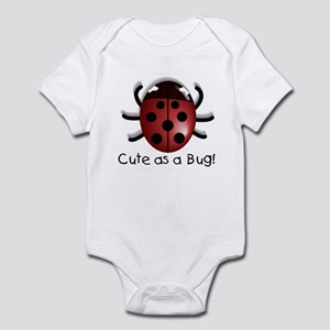 Cute As A Bug Infant Bodysuit
