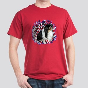 Chin Patriotic Dark T-Shirt