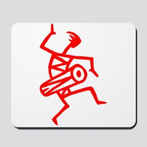 Drumming Petroglyph Mousepad