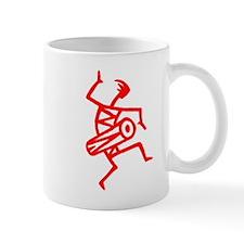 Drumming Petroglyph Mug